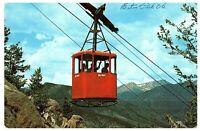 Estes Park Aerial Skyway Colorado Vintage Postcard