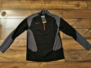 Nike Academy Half Zip Tracksuit Black/Siren Men's Size Large BRAND NEW