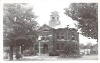D53/ Grayling Michigan Mi RPPC Postcard County Court House c40s   11