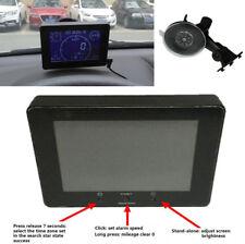 GPS Signal 12-24V Auto Lkw Tacho Kilometerzähler Voltmeter Messgerät Mit Zubehör
