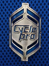Cycle Pro NOS Head Badge 80s