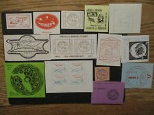 Space Cinderella Stamps Unchecked Lot of 14 Stamps All Pictured