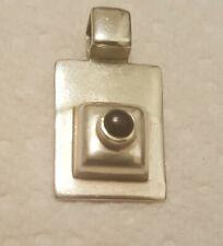 Silpada 925 Sterling Silver Black Onyx Pendant S0638 RETIRED will combine .