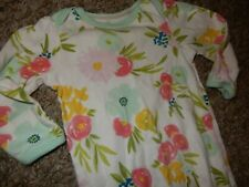 Cloud Island Floral Fields Cotton Jersey Knit Infant Gown Sleeper Sleep Sack bag