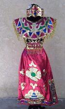 Mexican Aztec Dancer Costume.Traje Azteca de Danza para Mujer de 5 piezas