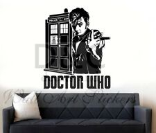 Dr Who David Tennant Wall Sticker Icon Wall Decal Art Sticker