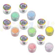 Rainbow Dust Glitter per Dolci-SET COMPLETO PASTELLO