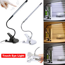 Flexible USB Clamp Clip On LED Light Craft Reading Table Desk Bedside Table Lamp