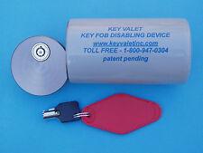 Automobile Key FOB Storage Device - Blocks Transponder Signal Deters Theft