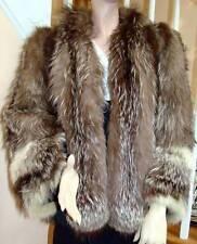 White-tipped Fox Jacket Size 4-6