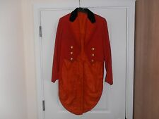 Vintage 1926 London Tailored Red  Tailcoat C/w  Cotswold Hunt Buttons