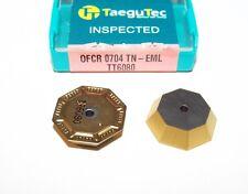 OFCR 0704TN-EML TT6080 TAEGUTEC *** 10 INSERTS *** FACTORY PACK ***