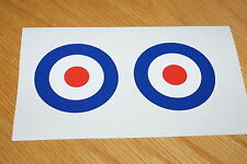 Vespa - Airforce Sticker (Pair)
