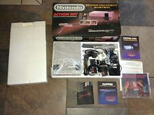 NINTENDO ENTERTAINMENT GAME SYSTEM ORIGINAL ACTION SET NES HQ MINTY BARELY USED