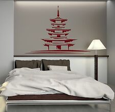 Vinyl Decal Japan Japanese Architecture Oriental Decor Art Wall Stickers (129ig)