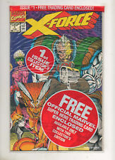 X-FORCE #1 poly bagged sealed with SHATTERSTAR card Rob Liefeld Marvel Comics NM