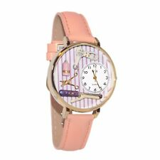 Beautician Pink Leather Watch