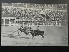Old PC, BULL FIGHTER / PICADOR: Attack of the Bull to Picador & Horse