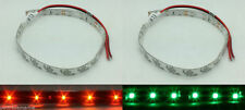 Red Green LED Navigation Bow  Strip Lighting Waterproof Kayak Canoe Boat Pontoon