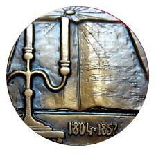 Bronze Art medal.Russian composer Mikhail Ivanovich Glinka. Music / N.125