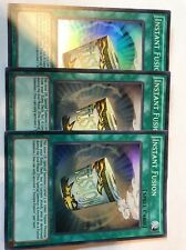 Yugioh (3x) Instant Fusion FUEN-EN042 Super Rare NM Playset