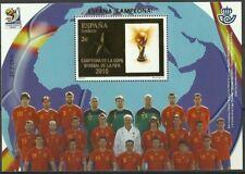 [CF6123] España 2010, HB Campeones del Mundo 2010 (MNH)