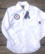 NEW Ralph Lauren Polo Women's 2P Official 2012 US Olympic Team Button Up Shirt