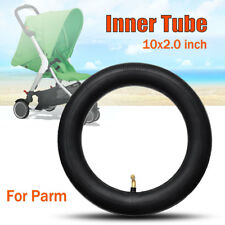 10x2.0 Inch Pram Inner Tube Bent Schrader Valve Stem Stroller children Kids Bike