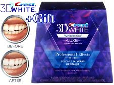 Crest 3D White Luxe Whitestrips Professional Effects 40 Strips / 20 Treatments
