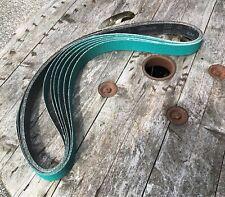 "6x 36 Grit Abrasive Belts 2""x72"" for Grinding/Polishing/Knife Making/Woodworking"