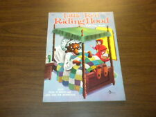 LITTLE RED RIDING HOOD Coloring Book - Waldman 1964 New York (unused)