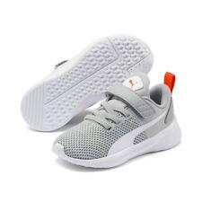Puma Unisex Flyer Runner V Inf Kinder Baby Schuhe Sneaker 192930 High Rise Grau