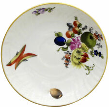 Herend Fruits & Flowers (Bfr) Saucer for Flat Demitasse Cup (1709)