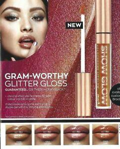 NEW OUT - Avon Mark Show Glow Holochrome Lipglow Lip Gloss