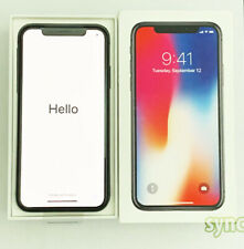 NEW APPLE IPHONE X (UNLOCKED)  256GB AT&T T-MOBILE VERIZON - SPACE GRAY
