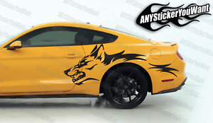 Mustang Coyote Graphic Decal Sticker FITS Ford Mustang