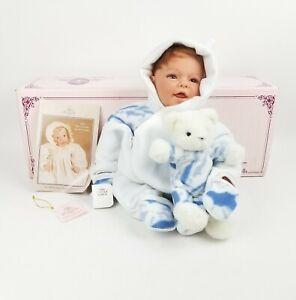 """1999 Lee Middleton 20"""" Boy Doll Warm & Cuddly Ltd. Ed. 2122/3000"""