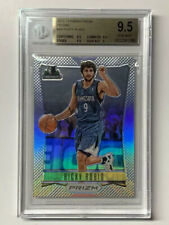 Ricky Rubio 2012 Panini Silver 1st Year Prizm Basketball Card #48 BGS 9.5