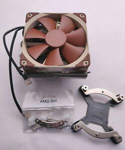 Noctua NH-L12 Low Profile HTPC SFF HSF Downdraft Cooler - Dual Fans 120mm 90mm