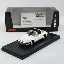Schuco 1/43 Porsche 911 Targa Grand Prix White Limited 500 Resin  450891300