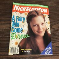 NICKELODEON MAGAZINE - September 1998 - Drew Barrymore Ever After Issue