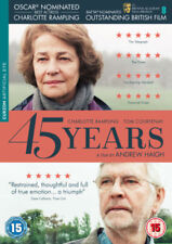 45 Years Dvd Charlotte Rampling Brand New & Factory Sealed