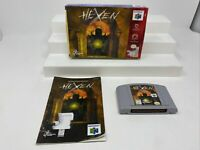 Hexen (Nintendo 64, 1997) N64 Authentic Tested Box and Manual Included