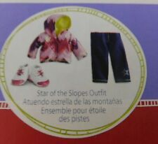 AMERICAN GIRL TRULY ME STAR OF THE SLOPES SNOWBOARD OUTFIT NIB FREE SHIP