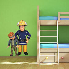 Fireman Sam Norman Multi Colour Wall Art Sticker Children's Bedroom Decal Mural