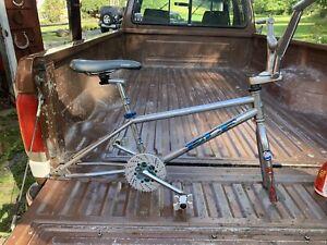 ELF old school BMX frame, redline seat, fusion hub