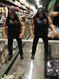 2010 ABYSS TNA DELUXE IMPACT WRESTLING SERIES FOUR 4 JAKKS  WWE  Lot Of 2