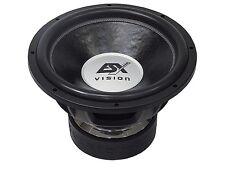"""ESX Vision Woofer VE-1522 38 cm 15"""" Subwoofer 4000 Watt RMS Alu Gusskorb"""