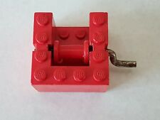 Lego Treuil rouge red winch x378c01
