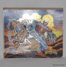 RARE!! POWER RANGERS, UNCUT FACTORY SHEET (PUZZLE) 4471-8